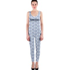Abstract Ornament Tiles One Piece Catsuit