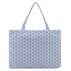 Abstract Ornament Tiles Zipper Medium Tote Bag