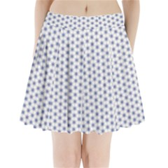 Strange Flowers Pleated Mini Skirt