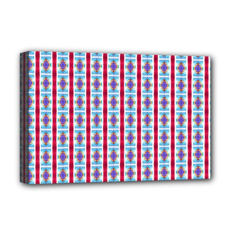 Arabic Ornament Stripes Deluxe Canvas 18  X 12   by jumpercat