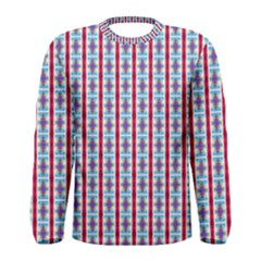 Arabic Ornament Stripes Men s Long Sleeve Tee