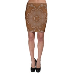 Fractal Pattern Decoration Abstract Bodycon Skirt