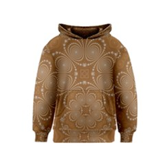 Fractal Pattern Decoration Abstract Kids  Pullover Hoodie