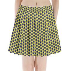 Arabesque Stars Pleated Mini Skirt by jumpercat