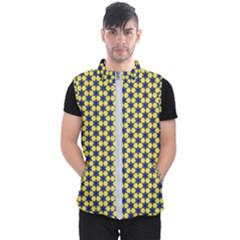 Arabesque Stars Men s Puffer Vest by jumpercat
