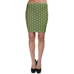 Greenville Pattern Bodycon Skirt