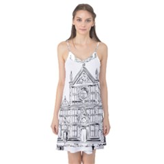 Line Art Architecture Church Italy Camis Nightgown