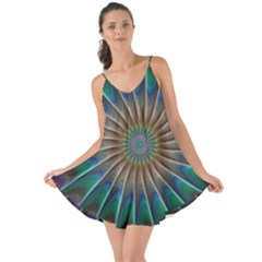 Fractal Peacock Rendering Love The Sun Cover Up