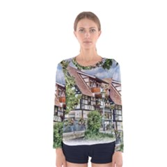Homes Building Women s Long Sleeve Tee by Sapixe