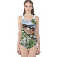 Homes Building One Piece Swimsuit