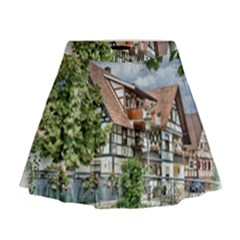 Homes Building Mini Flare Skirt