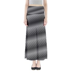 Ornament Stucco Close Pattern Art Full Length Maxi Skirt