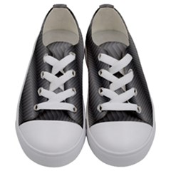 Ornament Stucco Close Pattern Art Kids  Low Top Canvas Sneakers