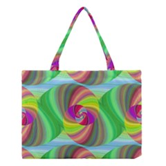 Seamless Pattern Twirl Spiral Medium Tote Bag