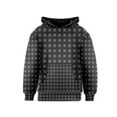 Kaleidoscope Seamless Pattern Kids  Pullover Hoodie