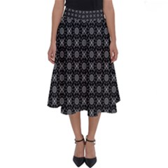 Kaleidoscope Seamless Pattern Perfect Length Midi Skirt