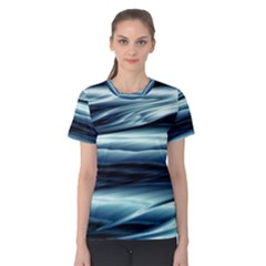 Texture Fractal Frax Hd Mathematics Women s Cotton Tee