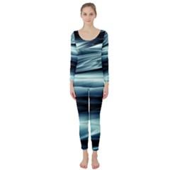 Texture Fractal Frax Hd Mathematics Long Sleeve Catsuit