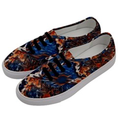 Wow Art Brave Vintage Style Men s Classic Low Top Sneakers by Sapixe