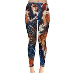 Wow Art Brave Vintage Style Inside Out Leggings