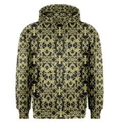 Golden Ornate Intricate Pattern Men s Pullover Hoodie