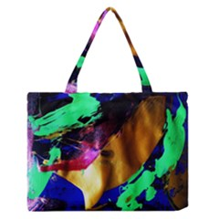 Global Warming 9 Zipper Medium Tote Bag