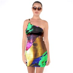 Global Warming 9 One Soulder Bodycon Dress