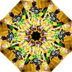 Lilac On A Counter Top 1 Folding Umbrellas