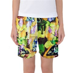 Lilac On A Counter Top 1 Women s Basketball Shorts