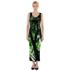 Hot Day In Dallas 28 Fitted Maxi Dress