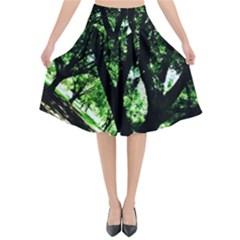 Hot Day In Dallas 28 Flared Midi Skirt