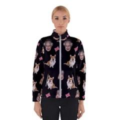 Queen Elizabeth s Corgis Pattern Winterwear