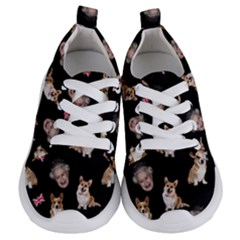 Queen Elizabeth s Corgis Pattern Kids  Lightweight Sports Shoes