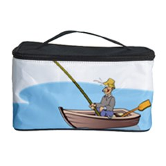 Fishing Fish Fisherman Boat Mare Cosmetic Storage Case
