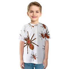 Nature Insect Natural Wildlife Kids  Sport Mesh Tee