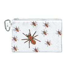 Nature Insect Natural Wildlife Canvas Cosmetic Bag (medium) by Sapixe