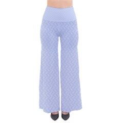 Alice Blue Mini Footpath In English Country Garden  So Vintage Palazzo Pants by PodArtist