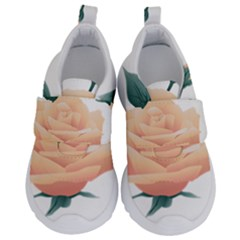 Rose Flower Nature Floral Summer Velcro Strap Shoes by Sapixe
