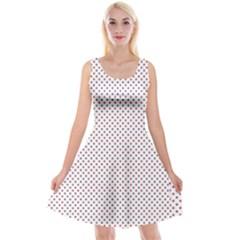 Usa Flag Red And Flag Blue Stars Reversible Velvet Sleeveless Dress by PodArtist