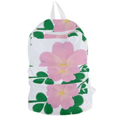 Rose Flower Briar Pink Flowers Foldable Lightweight Backpack by Sapixe