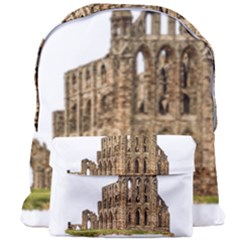Ruin Monastery Abbey Gothic Whitby Giant Full Print Backpack by Sapixe