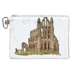 Ruin Monastery Abbey Gothic Whitby Canvas Cosmetic Bag (xl) by Sapixe