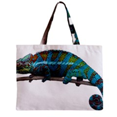 Reptile Lizard Animal Isolated Zipper Mini Tote Bag by Sapixe