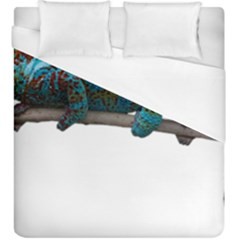 Reptile Lizard Animal Isolated Duvet Cover (king Size) by Sapixe
