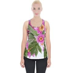 Daisies Flowers Arrangement Summer Piece Up Tank Top