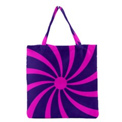 Illustration Abstract Wallpaper Grocery Tote Bag by Sapixe