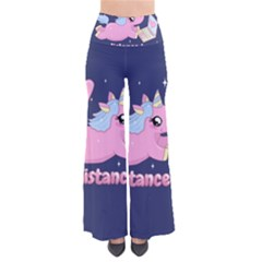 Long Distance Lover   Cute Unicorn So Vintage Palazzo Pants by Valentinaart