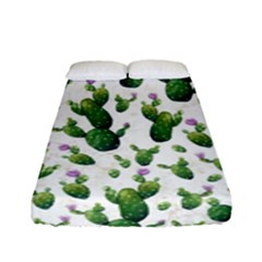 Cactus Pattern Fitted Sheet (full/ Double Size)