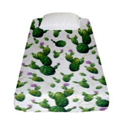 Cactus Pattern Fitted Sheet (single Size)