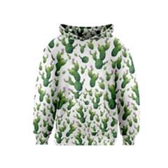Cactus Pattern Kids  Pullover Hoodie